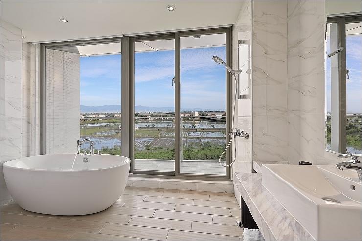 嵐 山景雙人房-浴室