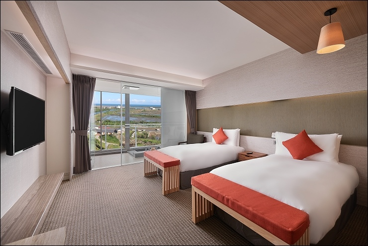 綻 海景雙人房-兩單床