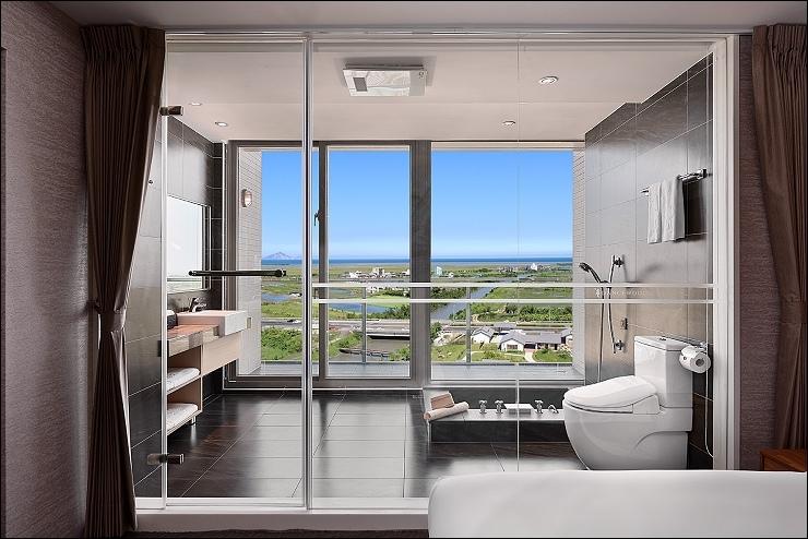 綻 海景雙人房-浴室