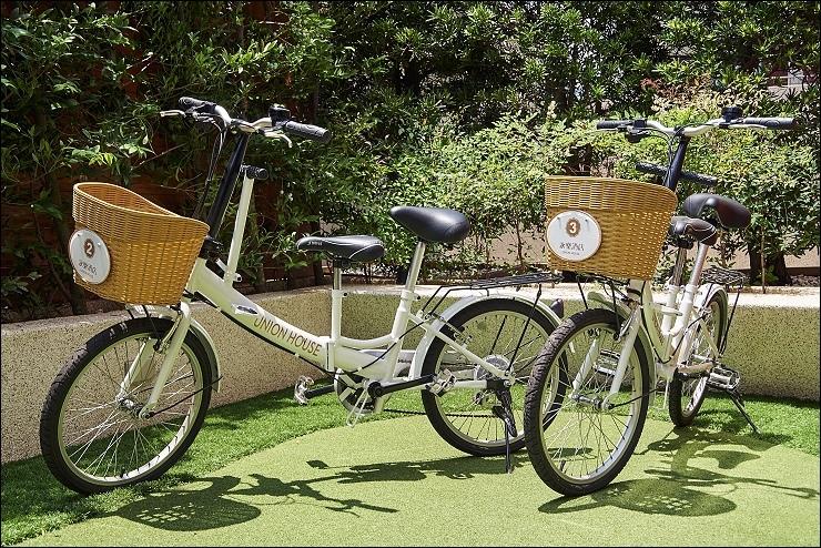 【鹿港永樂酒店】腳踏車租借服務