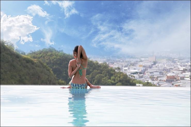 無邊際游泳池1