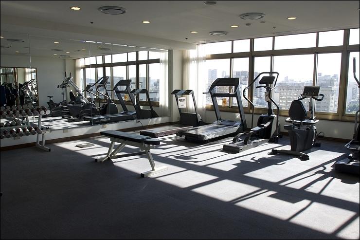 飯店環境 10F   健身房