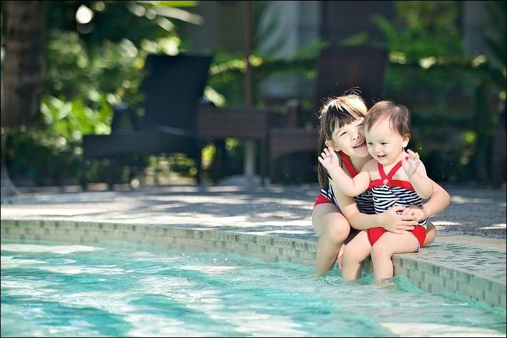 飯店_中島造型泳池