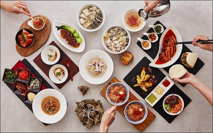 遠東Cafe將台南著名小吃在早餐供應.jpg