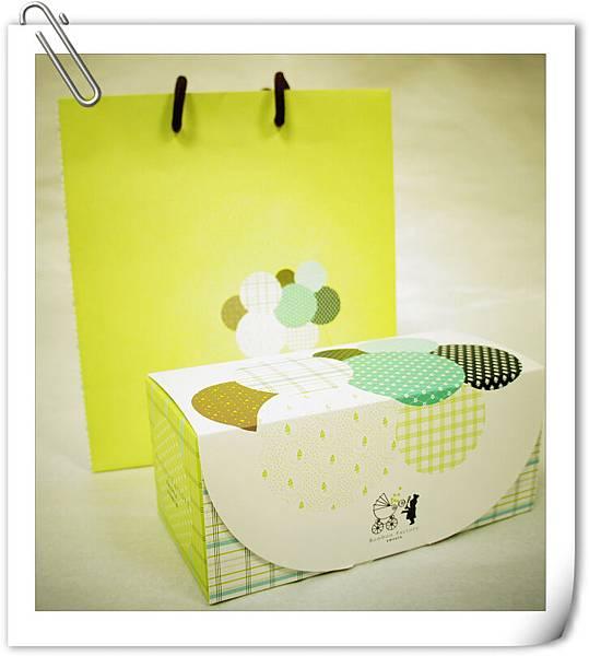 蛋糕卷外盒及提袋