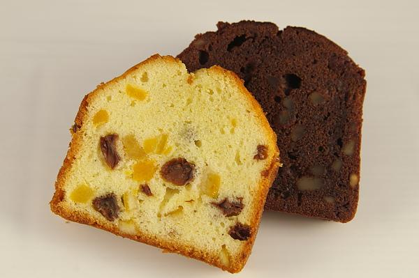 水果&巧克力磅蛋糕