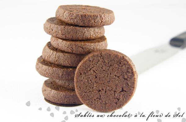 鹽之花巧克力餅