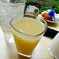 鮮榨白葡萄柚汁