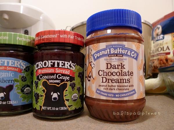 黑巧克力花生醬