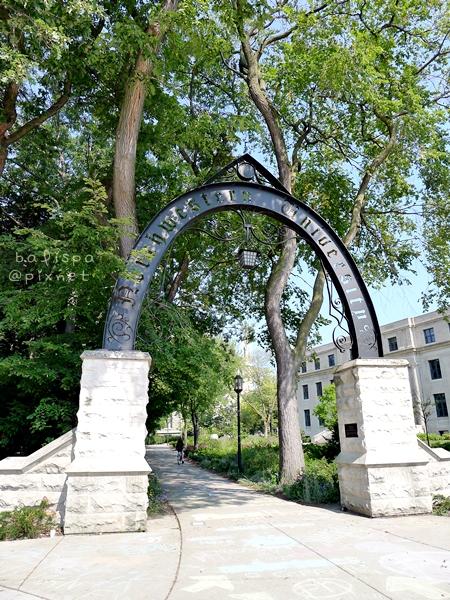 Weber Arch