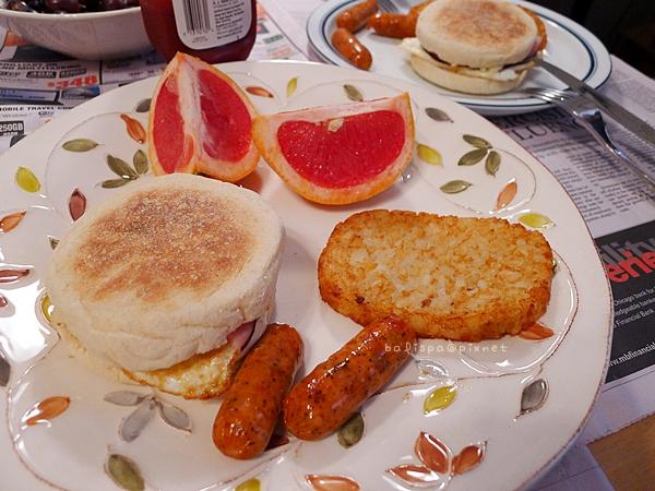 某天早午餐