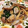 變身:白酒蛤蠣義大利麵