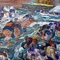 描繪鐵達尼號