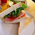 蔬菜滿滿三明治