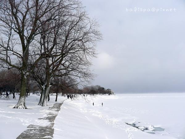 右邊這片是湖