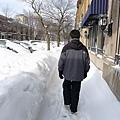 雪深超過腰