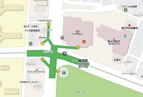Homeplus 龍頭站