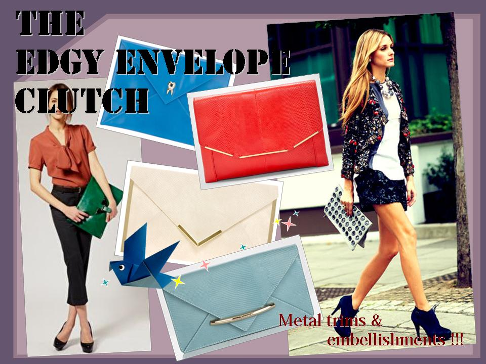 The Edgy Envelope Clutch