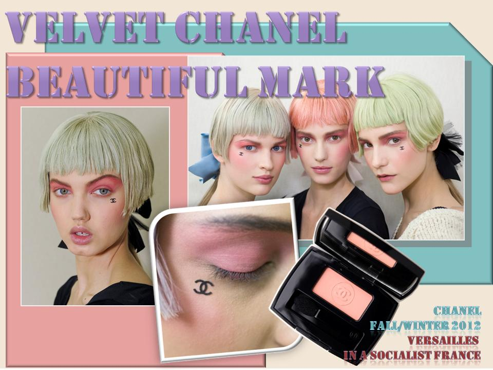 chanel beauty mark