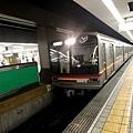 再搭地鐵出發前往大阪城