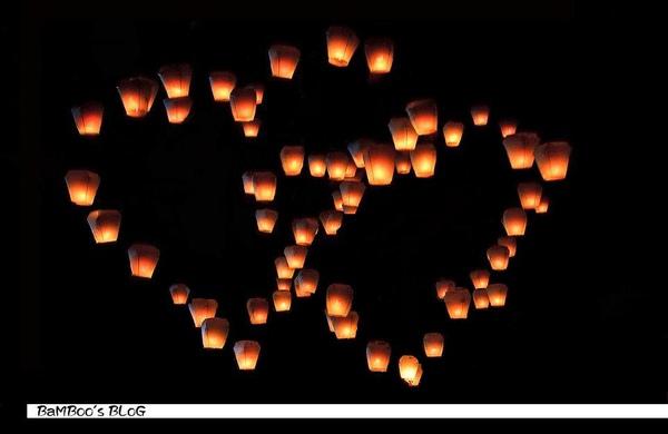 逝去的天燈與愛,剎那永恆