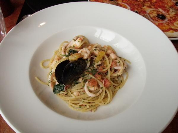 主菜 - 海鮮義大利麵