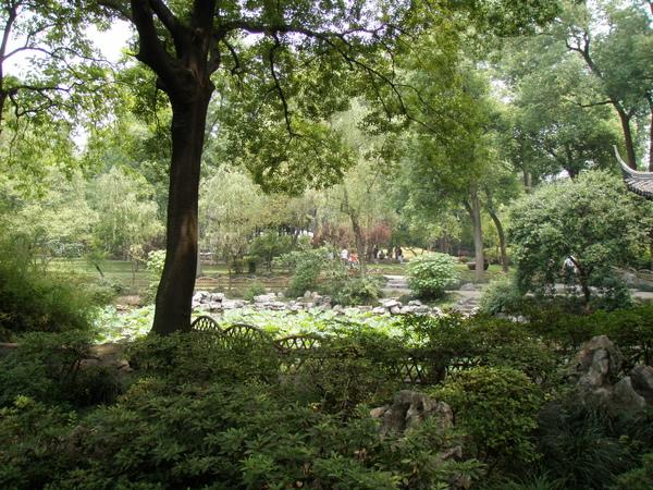 園林裡的一角