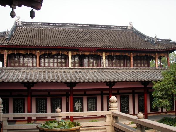 寒山寺的正殿
