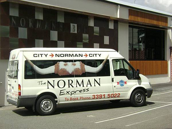 norman hotel car