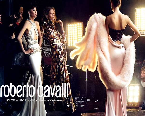 Roberto Cavilli live.xineurope.com