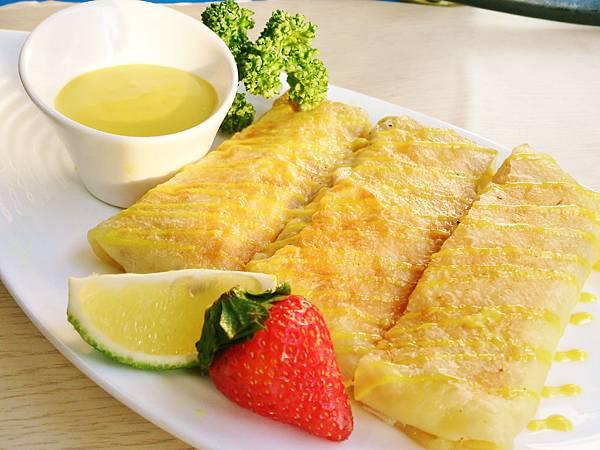 蜂蜜芥末鮪魚煎餅4