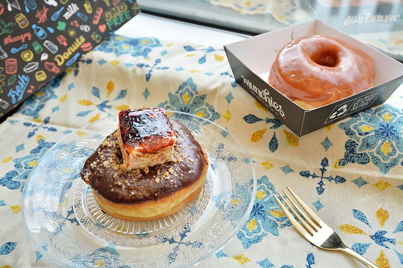香港上環咖啡館:Munchies多種口味甜甜圈,炙烤棉花糖巧克力與焦糖口味