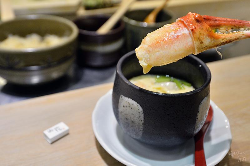 山花日本料理午餐:(有WIFI)好吃的鮪魚腹肉.北海道海膽干貝.松葉蟹腳,台北捷運科技大樓,遠企附近餐廳