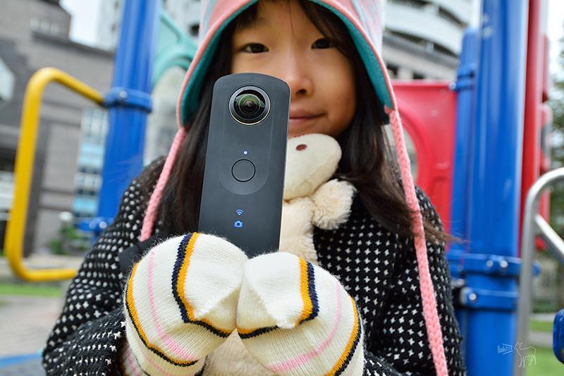 RICOH THETA S 有趣的360度相機自拍機 開箱與使用說明