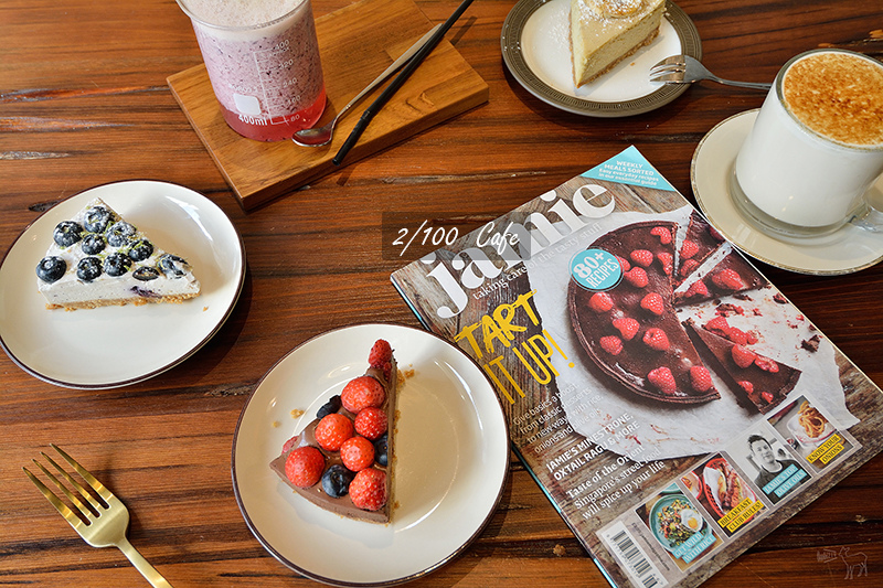 百分之二咖啡:新竹一百種味道甜點二店 復古氛圍