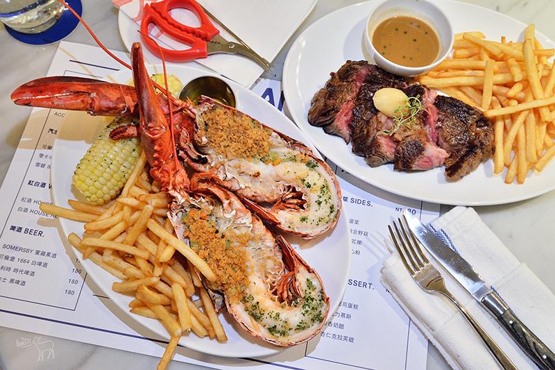 Le Blanc 台北大安路:好吃的10盎司肋眼牛排,整隻波士頓龍蝦餐,捷運忠孝復興站美食餐廳