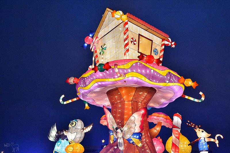 2016桃園燈會:繽紛主副燈,六大主題燈區與寬廣佔地.高鐵桃園站,免費接駁車
