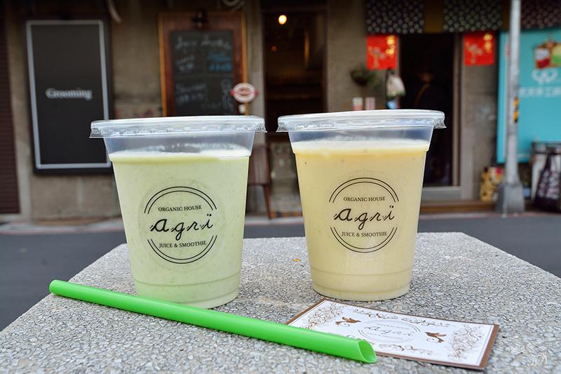 Agri 赤峰街:日本人開的花藝果汁飲料店,推薦毛豆奶昔,捷運雙連站中山站美食