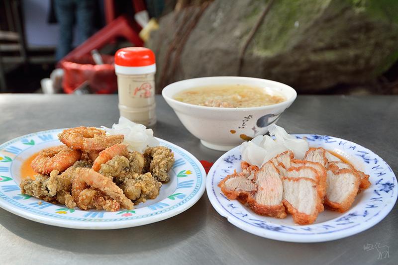 葉家肉粥:老台北中式早午餐,好吃的炸紅燒肉,慈聖宮美食,捷運大橋頭站