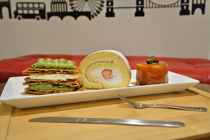 Sweet 16 Patisserie 甜典16號:天母日法系甜點,抹茶千層派與草莓蛋糕捲