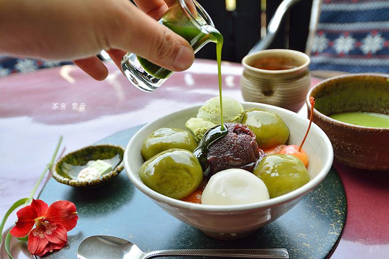 鐮倉美食-茶房雲母:超大Q軟抹茶白玉甜點,愜意日式風甜點下午茶