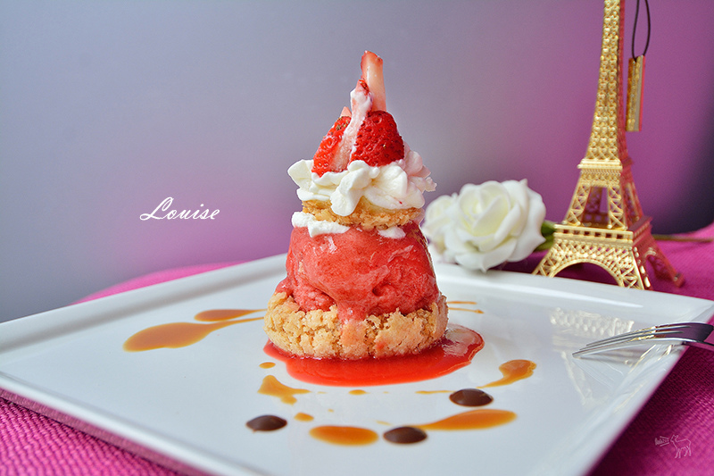 Louise 法國空運來台冰淇淋泡芙甜點,Philippe Urraca MOF得獎甜點師,台北東區捷運忠孝復興站下午茶