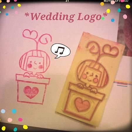 新刻的婚禮LOGO哈哈