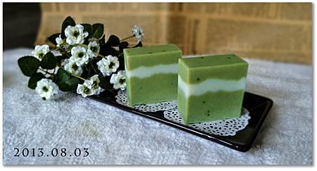 清新綠茶浮水皂