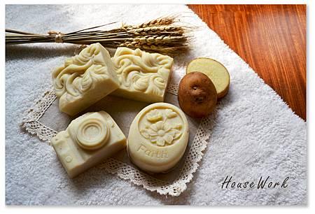 馬鈴薯橘油家事皂