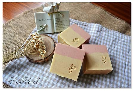 粉紅珍珠玉容皂