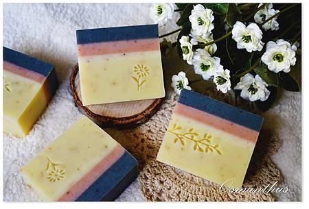 桂花礦泥潤膚皂