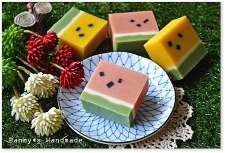 夏日西瓜皂-小玉&紅肉