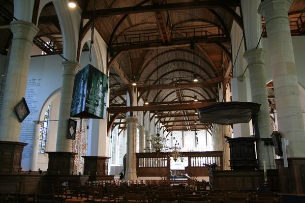 Edam 的木造教堂