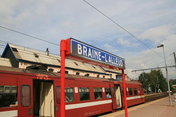 比利時火車-攝於Braine-L'Alleud車站